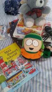 Kenny. Lasten kirjoja ja pelejä.