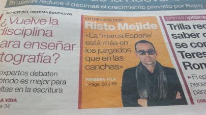 Mua on aina naurattanu tää Risto. nimi muutettu, oikea nimi Rivardo. Hän on Espanjalainen mediapersoona, ei tietääkseni katalaani. Tapasimme myös Gambialaisen, jolla oli Satu-niminen sisar.